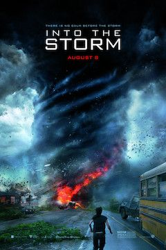 Into the Storm movie poster.