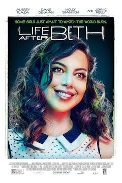 Life After Beth movie poster.