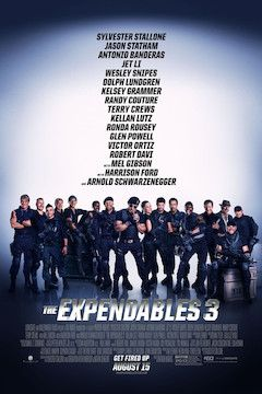 The Expendables 3 movie poster.