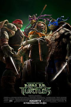 Teenage Mutant Ninja Turtles movie poster.