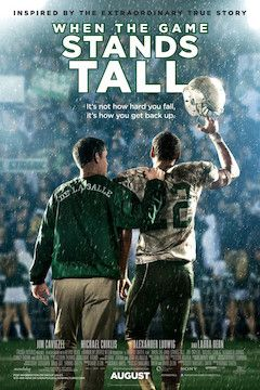 Poster for the movie When the Game Stands Tall