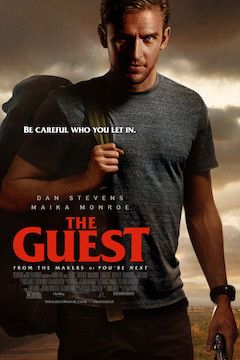 The Guest movie poster.