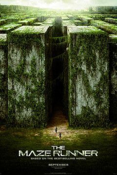 The Maze Runner movie poster.