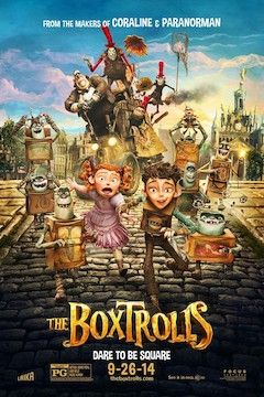 The Boxtrolls movie poster.