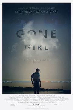 Gone Girl movie poster.
