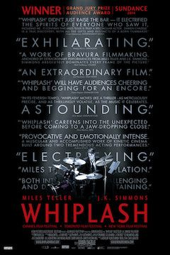 Whiplash movie poster.