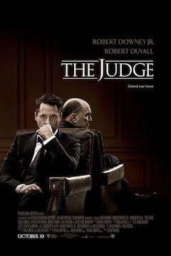 The Judge movie poster.