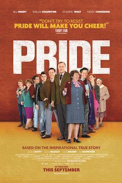Pride movie poster.