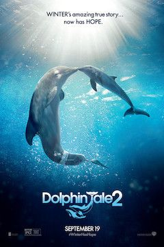 Dolphin Tale 2 movie poster.