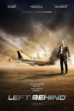 Left Behind movie poster.