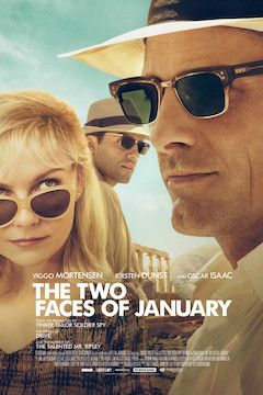 Poster for the movie The Two Faces of January