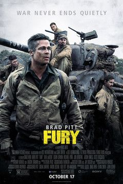 Fury movie poster.