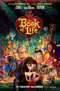 Poster for the movie The Book of Life