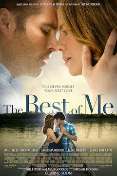 The Best of Me movie poster.