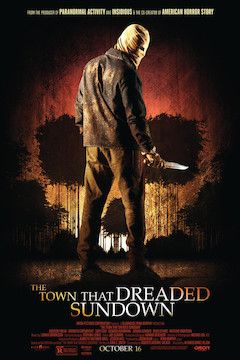 The Town That Dreaded Sundown movie poster.