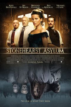 Stonehearst Asylum movie poster.