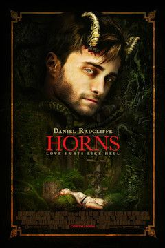 Horns movie poster.