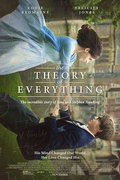 The Theory of Everything movie poster.