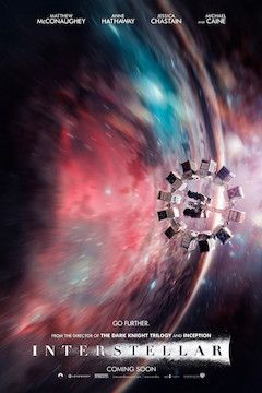 Interstellar movie poster.