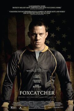 Foxcatcher movie poster.