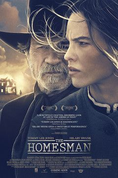 Poster for the movie The Homesman