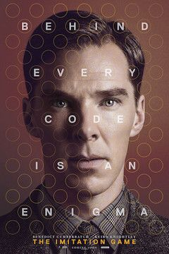 The Imitation Game movie poster.