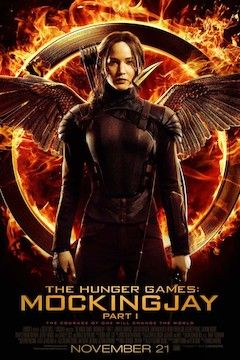 The Hunger Games: Mockingjay, Part 1 movie poster.
