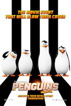 Penguins of Madagascar movie poster.