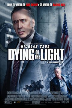 Dying of the Light movie poster.
