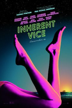 Inherent Vice movie poster.