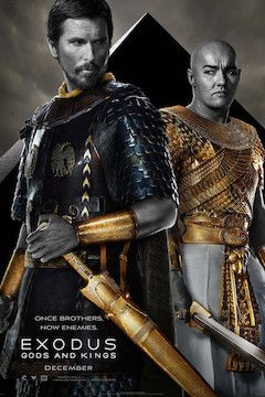 Exodus: Gods and Kings movie poster.