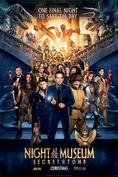 Night at the Museum: Secret of the Tomb movie poster.