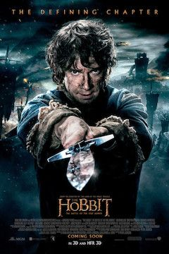The Hobbit: The Battle of the Five Armies movie poster.