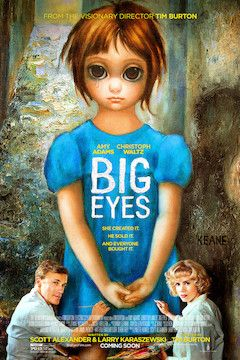 Big Eyes movie poster.