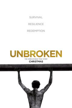 Unbroken movie poster.