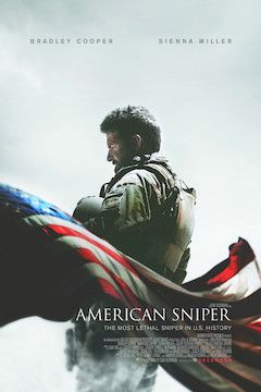 American Sniper movie poster.