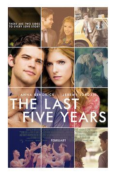 The Last Five Years movie poster.