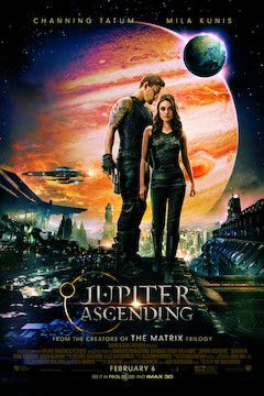 Jupiter Ascending movie poster.