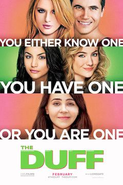 The DUFF movie poster.