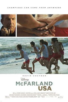 McFarland, USA movie poster.