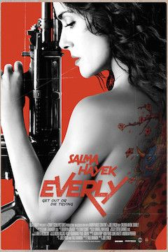 Everly movie poster.
