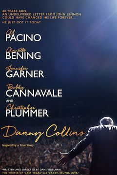 Danny Collins movie poster.