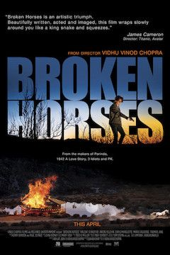 Broken Horses movie poster.