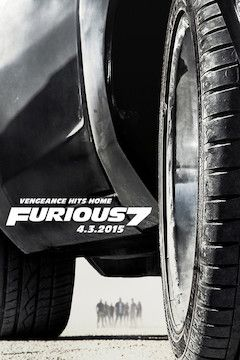 Furious 7 movie poster.
