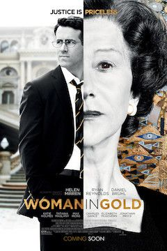 Woman in Gold movie poster.
