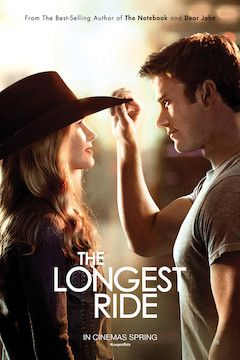 The Longest Ride movie poster.