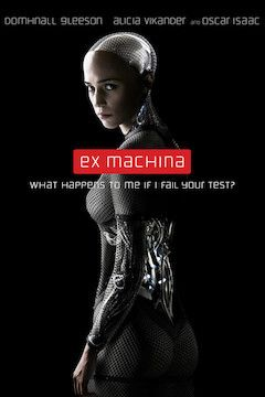 Ex Machina movie poster.