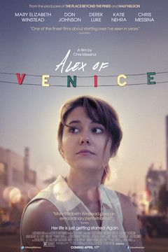 Alex of Venice movie poster.
