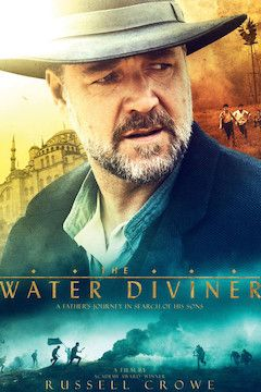 The Water Diviner movie poster.