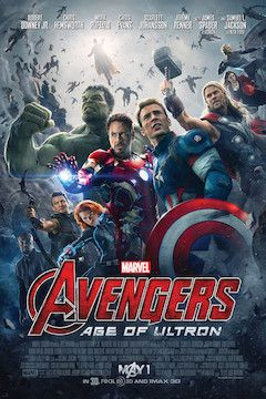 Poster for the movie Avengers: Age of Ultron